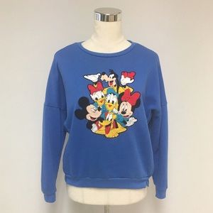 Disney Mickey Mouse Chenille Patch Sweatshirt 8U